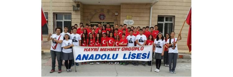 Hayri Mehmet Ürgüplü Anadolu Lisesi Atatürk ve Bayrak Tisört
