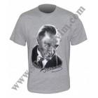 30 agustos Atatürk Baskılı Tişört