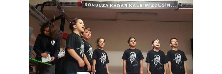 Ataşehir Mustafa Öncel ilkokulu 10 kasım Atatürk Tişörtleri
