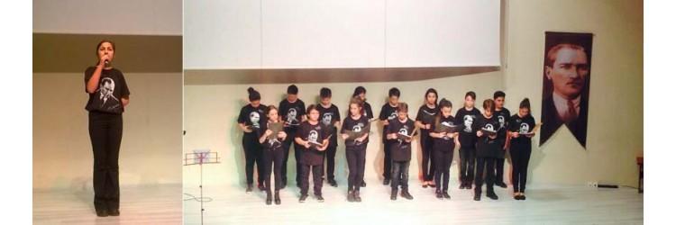 Aydın Doğa Koleji 10 Kasım Atatürk T-shirtleri