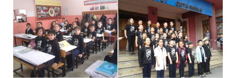 Bartın Cumhuriyet Ortaokulu Atatürk Tişörtleri