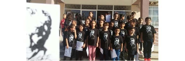 Tarsus HayrunnisaKöylügil ilkokulu 10 kasım t-shirtleri